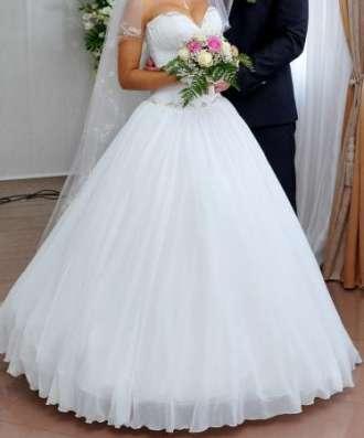 шикарное свадебное платье в Ростове-на-Дону Фото 3
