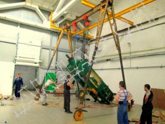 Такелажные работы в Крыму (трансформаторы, станки, пресса до 1000 тонн) в Москве Фото 1