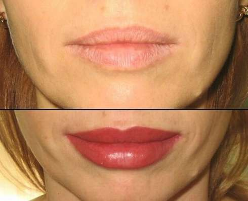 Перманентный макияж брови стрелки губы, микроблейдинг
