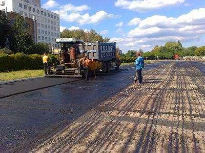Асфальтирование дорог и дорожные работы в Новосибирске Фото 5