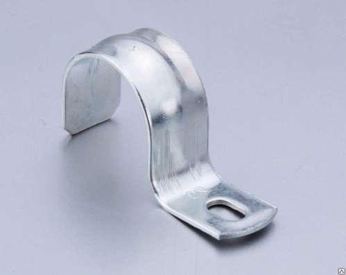 Скоба двухлапковая 8-9 мм