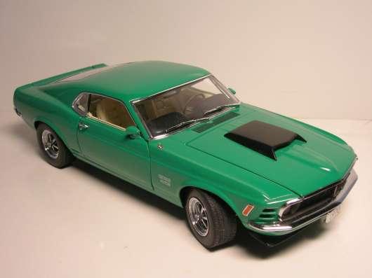 Danbury Mint 1/24 1970 Ford Mustang Boss 429 LE в Москве Фото 2