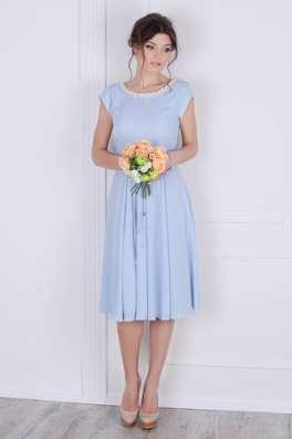Платье шифоновое в голубом цвете от Scandal Sonya в г. Харьков Фото 3