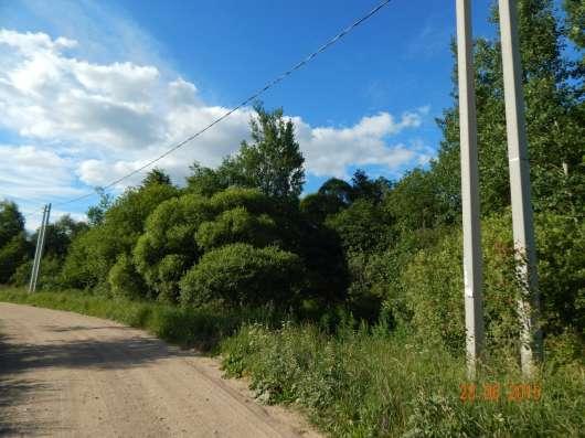 Зем. участок 16 соток, комуник., по границе, в д. Рай в Смоленске Фото 2