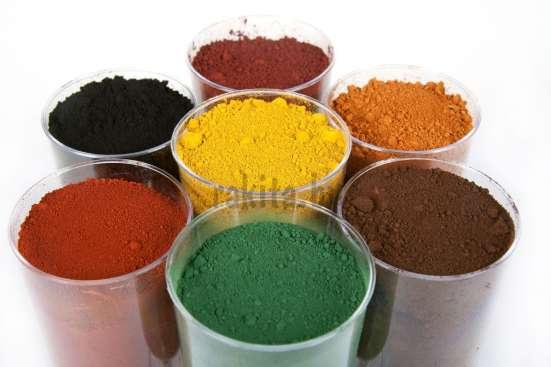 Пигменты железоокисные (для бетона и гипса)