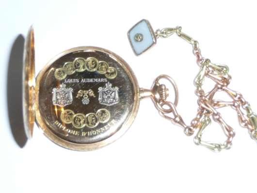 Карманные часы Louis Audemars. 1850 год. Золотой корпус в г. Самара Фото 2