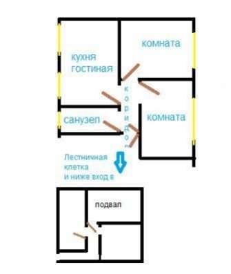 З - х комнатная квартира в центральной части города у моря