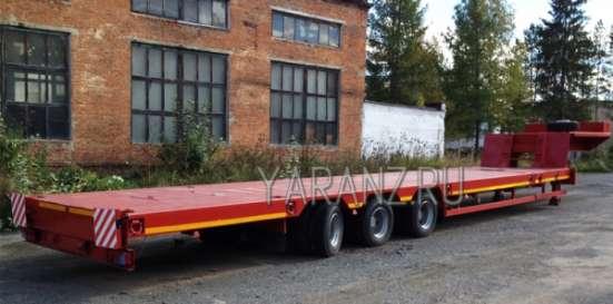 3. Трал раздвижной низкорамный 40 тонн 18.5 метров