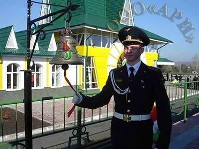 Кадетская форма железнодорожников в Челябинске Фото 1