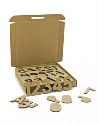 Набор игровой из картона 5010 Многобукв