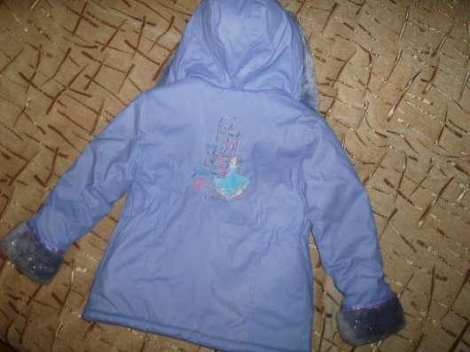 """Утепленная куртка """"Золушка"""" на девочку в г. Минск Фото 1"""