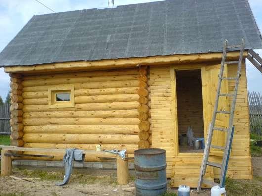 Строим дома дачи бани биседки