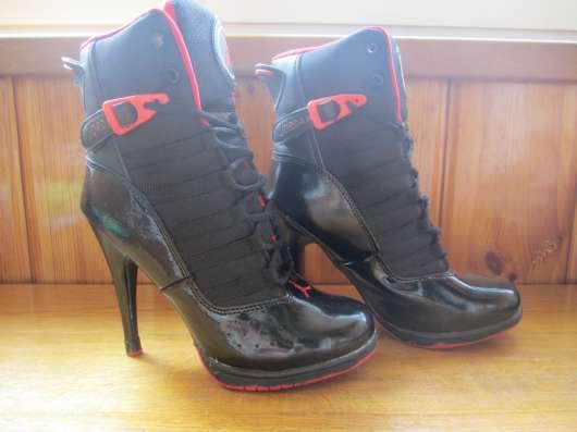 Ботиночки Nike JORDAN Кожа натуральная под лак в г. Запорожье Фото 4