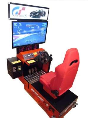 Автогонки симулятор развлекательный автомат(новый) в Челябинске Фото 2