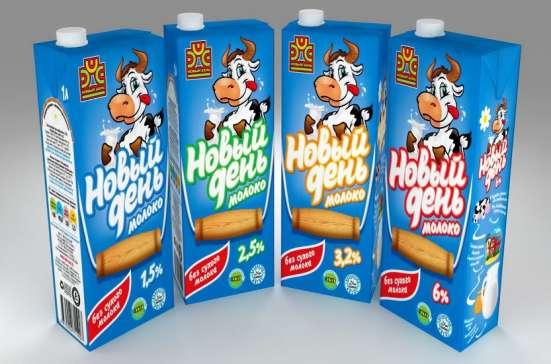 Молоко «Новый день» TBA (твердая упаковка)