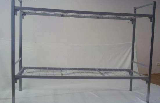 Металлические кровати для пансионата, детских лагерей оптом.