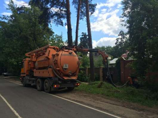 Прочистка канализационных труб. Аварийная служба 84955326796