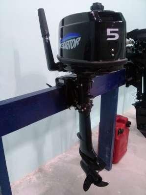 Лодочный мотор Гладиатор 5 л. с. 2Т, новый, 2016 г