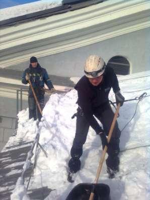 Обслуживание кровли очистка от снега в Мурманске Фото 2