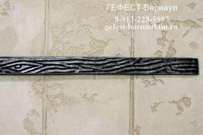 Кованая декоративная полоса 40х4, декор