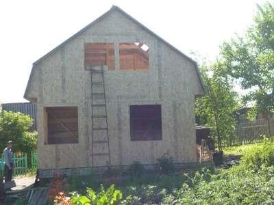 каркасно-щитовой дом в Пензе Фото 2